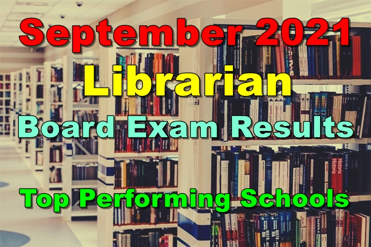 Librarian Board Exam Results