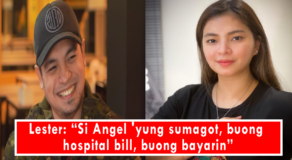 Lester Llansang Grateful to Angel Locsin After Paying Son's Hospital Bill