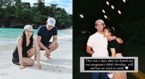 Alex Gonzaga & Mikee Morada Photo After Discovering Undeveloped Pregnancy