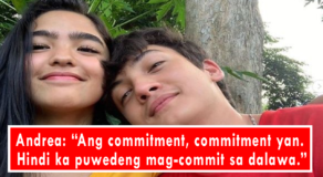 """Andrea Brillantes Shares Seth Fedelin is Already """"Committed"""" to Her"""