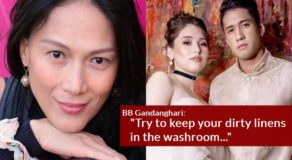 BB Gandanghari Asked To React To Kylie Padilla-Aljur Abrenica Issue