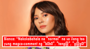 Bianca Gonzalez Air Dismay to Foul-Mouthed People On Social Media