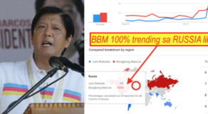 BBM Trending In Russia For Past 30 Days