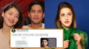 Kylie Padilla-Aljur Abrenica Issue: American actress Kylie Brakeman Reacts