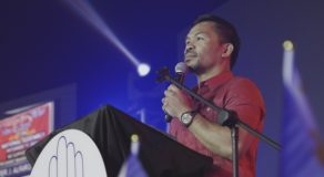 Manny Pacquiao Bravely Says He Wants A Face-to-Face Presidential Debate