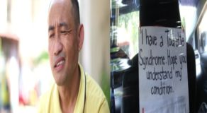 Taxi Driver w/ Tourette Syndrome Goes Viral For Working Hard Amid Condition