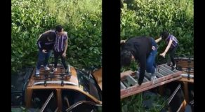 Young Teenagers Got Into Accident & Fell Into River After Driver Fell Asleep